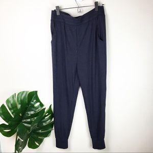 Honeydew | ribbed navy lounge joggers pants